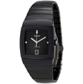 Rado Sintra R13723702 Black With 4 Diamonds Dress Watches