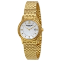 Raymond Weil Tradition 5966-P-00995 Ladies Yellow Gold PVD Stainless Steel Dress Watches
