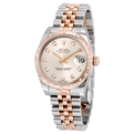 Rolex 178341SDJ Ladies Scratch Resistant Sapphire Luxury Watches