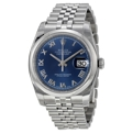 Rolex Datejust 116200BLRJ Mens Automatic Casual Watches