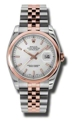Rolex Datejust 116201SSJ Mens Silver Casual Watches