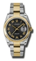 Rolex Datejust 116203BKJRO Mens Sapphire Luxury Watches