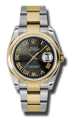 Rolex Datejust 116203BKSBRO 36 mm Luxury Watches