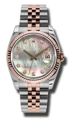 Rolex Datejust 116231BKMDJ Ladies Automatic Luxury Watches