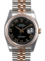 Rolex Datejust 116231BKRJ Stainless Steel Luxury Watches