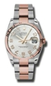 Rolex Datejust 116231SCAO Mens Stainless Steel Luxury Watches