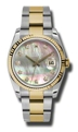 Rolex Datejust 116233BKMDO Mens Stainless Steel and 18kt Yellow Gold Casual Watches