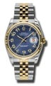 Rolex Datejust 116233BLCAJ Stainless Steel and 18K Yellow Gold Luxury Watches