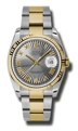 Rolex Datejust 116233GYSBRO Mens Grey Casual Watches