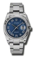 Rolex Datejust 116234BLJRO Stainless Steel Luxury Watches