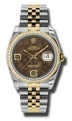 Rolex Datejust 116243BRFAJ Ladies Brown Casual Watches