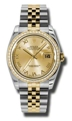 Rolex Datejust 116243CRJ Sapphire Casual Watches