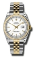 Rolex Datejust 116243WSJ White Casual Watches