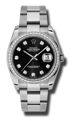 Rolex Datejust 116244BKDO Black Luxury Watches