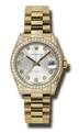 Rolex Datejust 178158SJDP Ladies Scratch Resistant Sapphire Casual Watches