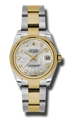 Rolex Datejust 178243MDO Stainless Steel and 18kt Gold Luxury Watches