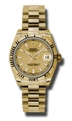 Rolex Datejust 178278CSP Ladies Champagne Luxury Watches