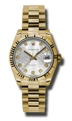 Rolex Datejust 178278SJDP Scratch Resistant Sapphire Luxury Watches