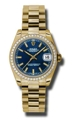 Rolex Datejust 178288BLSP Scratch Resistant Sapphire Casual Watches
