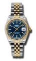 Rolex Datejust 178313BLSJ Blue Casual Watches