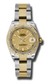 Rolex Datejust 178313CSO Ladies 31mm Casual Watches