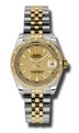 Rolex Datejust 178343CSJ Scratch resistant Sapphire Casual Watches
