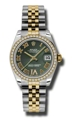 Rolex Datejust 178383GNRDJ Stainless Steel and 18kt Gold Luxury Watches