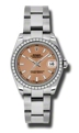Rolex Datejust 178384PSO Ladies Automatic Luxury Watches