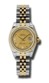 Rolex Datejust 179173CGDMADJ Ladies Champagne Goldust Mother of Pearl Casual Watches
