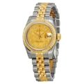 Rolex Datejust 179173CGDMDJ Ladies Scratch Resistant Sapphire Casual Watches