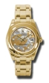 Rolex Datejust 81208GDDMDPM Ladies Goldust Dream Mother of Pearl Luxury Watches