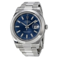 Rolex Datejust II 116300BLSO Mens Stainless Steel Luxury Watches