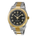 Rolex Datejust II 116333BKAO Mens Automatic Luxury Watches