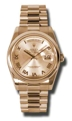 Rolex Day-Date 118205CRP Champagne Casual Watches