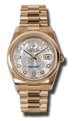 Rolex Day-Date 118205MTDP Mens 18kt Rose Gold Luxury Watches