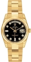 Rolex Day-Date 118208 Mens Sapphire Luxury Watches