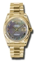 Rolex Day-Date 118238BKMRP Mens 18kt Yellow Gold Casual Watches