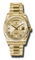 Rolex Day-Date 118238CJDP Mens Champagne Jubilee Casual Watches
