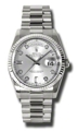 Rolex Day-Date 118239SDP 18kt White Gold Casual Watches