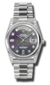Rolex Day-Date 118296BKMDP Mens Sapphire Luxury Watches