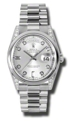 Rolex Day-Date 118296SDP Platinum Case with Diamonds Luxury Watches