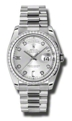 Rolex Day-Date 118346SDP Ladies Sapphire Luxury Watches