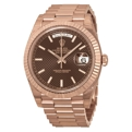 Rolex Day-Date 40 228235CHSP Mens Scratch Resistant Sapphire Luxury Watches
