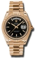 Rolex Day-Date II 218235BKSP Mens 41 mm Casual Watches
