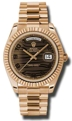 Rolex Day-Date II 218235BRWAP Mens Casual Watches