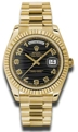 Rolex Day-Date II 218238BKWVAP 41 mm Casual Watches