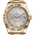 Rolex Day-Date II 218238SRP Silver Luxury Watches