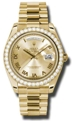 Rolex Day-Date II 218348CRP Mens Casual Watches