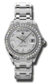 Rolex Day-Date Masterpiece 18946MTPM Ladies Automatic Luxury Watches