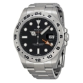 Rolex Explorer II 216570BKSO Mens Black Casual Watches